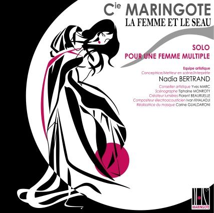 La Femme et le Seau – Solo, Théâtre corporel – Compagnie Maringote