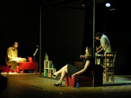 L'Inattendu de Fabrice Melquiot, Théâtre corporel – Compagnie Maringote